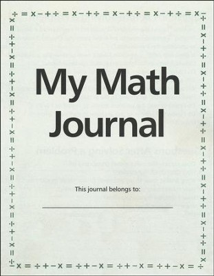 My Math Journal  -