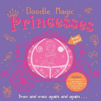 Doodle Magic: Princesses  -     By: Suhel Ahmed, Srimalle Bassani
