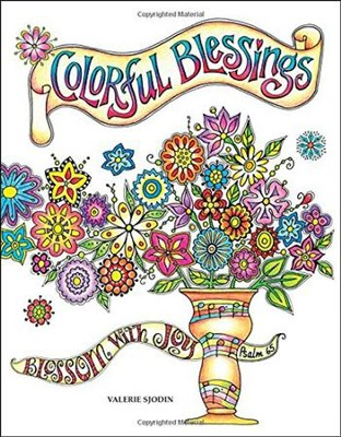 Colorful Blessings  -     By: Valerie Sjodin