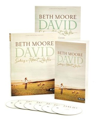 David: Seeking a Heart Like His DVD Leader Kit  -     By: Beth Moore