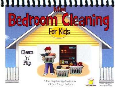 Mini Bedroom Cleaning for Kids   -