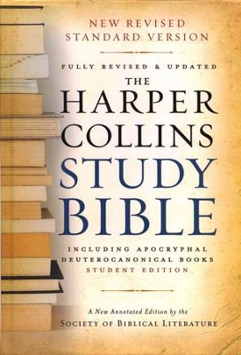 NRSV HarperCollins Study Bible with Apocrypha, Student Edition, Revised, softcover  -