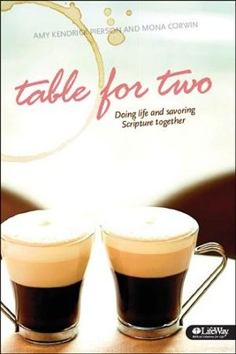 Table for Two: Doing Life and Savoring Scripture Together, Member Book  -     By: Amy Pierson