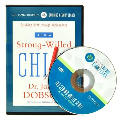 The New Strong-Willed Child DVD    -     By: Dr. James Dobson