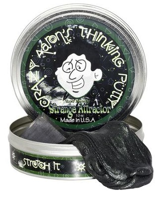 Strange Attractor Super Magnetic Putty, Black  -