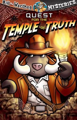 Quest for the Temple of Truth - Bill the Warthog Mysteries - eBook  -     By: Dean Anderson