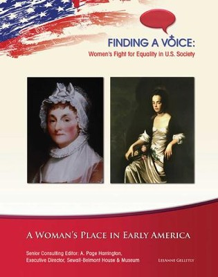 A Woman's Place in Early America - eBook  -     By: LeeAnne Gelletly
