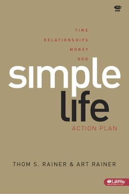 Simple Life: Action Plan, DVD Leader Kit  -     By: Thom S. Rainer, Art Rainer