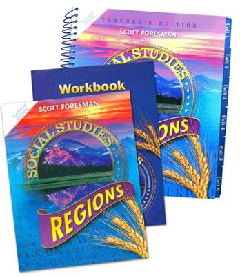 Scott Foresman Social Studies Grade 4 Homeschool Bundle   -