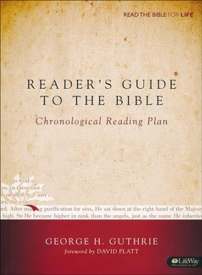 Reader's Guide to the Bible: A Chronological Reading Plan (Handbook)  -     By: George Guthrie