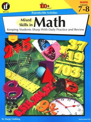 Mixed Skills in Math-Grades 7 to 8   -