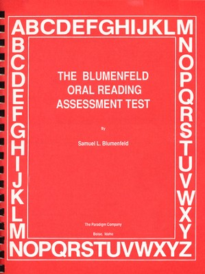 Oral Reading Assessment Test   -     By: Samuel L. Blumenfeld