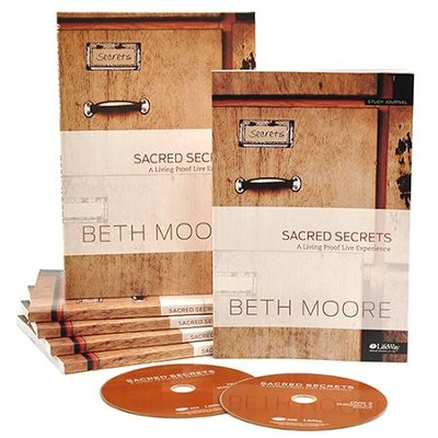 Sacred Secrets DVD Leader Kit   -     By: Beth Moore