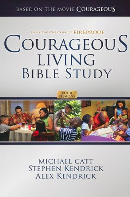 Courageous Living Bible Study Member Book - Slightly Imperfect  -     By: Michael Catt, Stephen Kendrick, Alex Kendrick