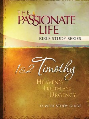 1 & 2 Timothy: Heaven's Truth and Urgency 12-week Study Guide - eBook  -     By: Brian Simmons