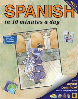 SPANISH in 10 minutes a day ®   -     By: Kristine K. Kershul