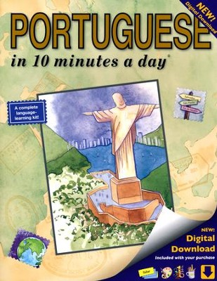 PORTUGUESE in 10 minutes a day ®   -     By: Kristine Kershul
