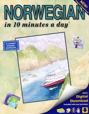 NORWEGIAN in 10 minutes a day ®   -     By: Kristine K. Kershul