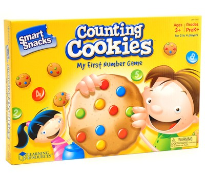 Smart Snacks Counting Cookies Game   -