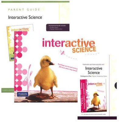 Interactive Science Grade K Homeschool Bundle   -