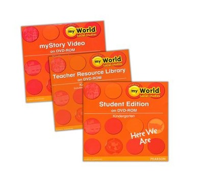 myWorld Social Studies Grade K Homeschool Bundle   -