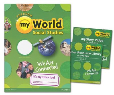 myWorld Social Studies Grade 3 Homeschool Bundle   -