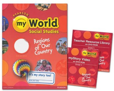 myWorld Social Studies Grade 4 Homeschool Bundle   -