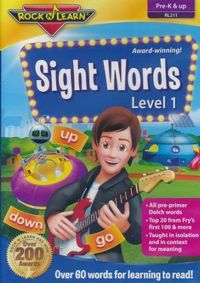 Sight Words DVD   -
