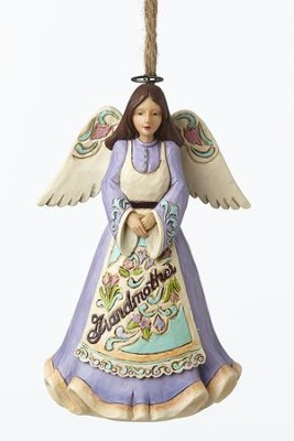 Grandmother Angel Ornament  -     By: Jim Shore
