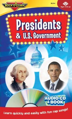 Presidents & U.S. Government--Book and CD   -