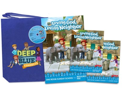 Deep Blue Connects: One Room Sunday School Kit, Spring 2020  -