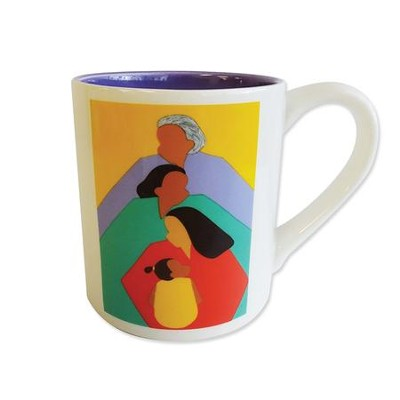 Four Generations of Women Mug, 16 oz  -     By: Synthia Saint James