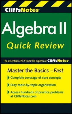CliffsNotes Algebra II QuickReview, 2nd Edition  -     By: David A. Herzog, Edward Kohn