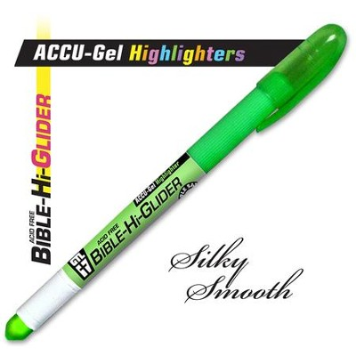 Gel Bible Highlighter, Green  -