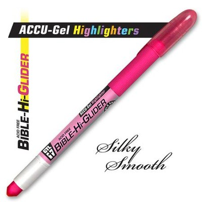 Gel Bible Highlighter, Pink  -