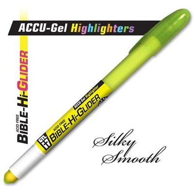 Gel Bible Highlighter, Yellow  -