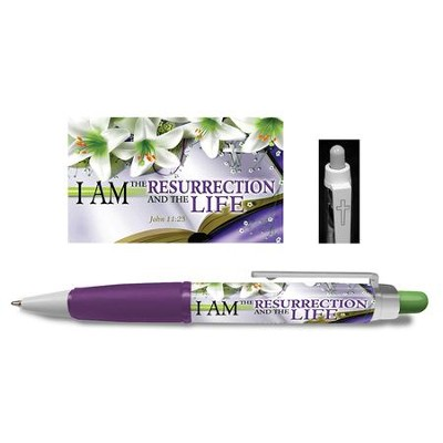 Resurrection and Life Chunkie Pen  -