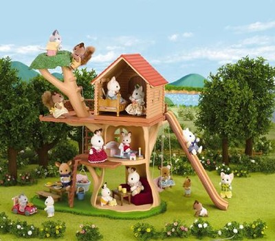 Calico Critters Adventure Tree House  -