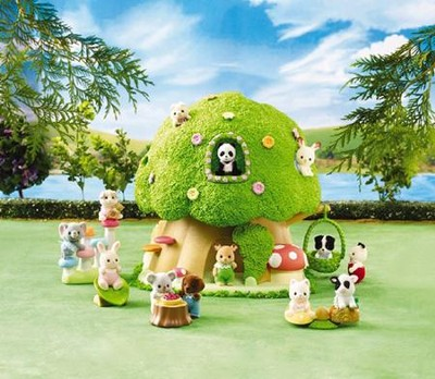 Calico Critters Baby Discovery Forest  -