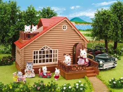 Calico Critters Lakeside Lodge  -