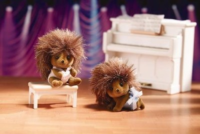Calico Critters Pickleweeds Hedgehog Twins  -