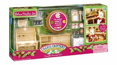 Calico Critters Deluxe Kitchen Set  -