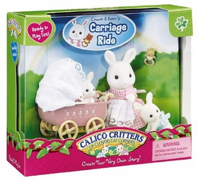 Calico Critters Connor & Kerri's Carriage Ride  -