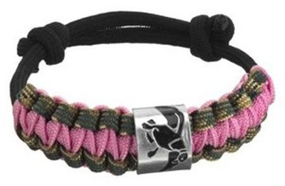 Duck Commander Survival Bracelet, Pink Duck Commander Series   -