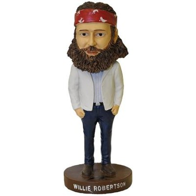 Duck Commander, Willie Bobble Head   -