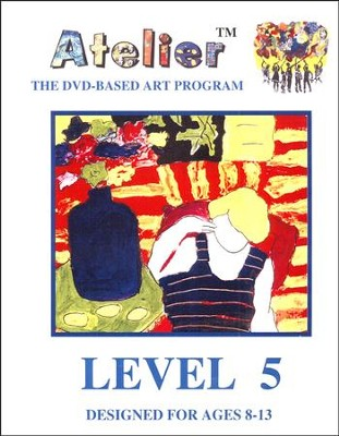 DVD-Based Art Lesson Modules Level 5B  -
