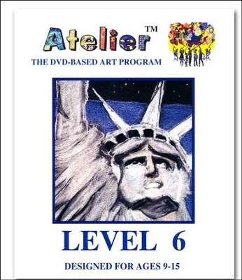 DVD-Based Art Lesson Modules Level 6A  -
