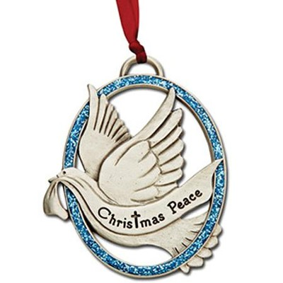 Our Christmas Peace, Dove; Ornament    -