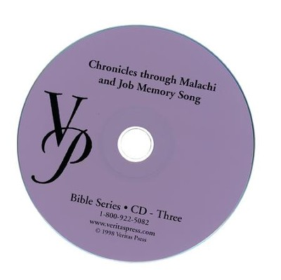 Chronicles-Malachi Memory Song CD  -     By: Marlin Detweiler, Laurie Detweiler
