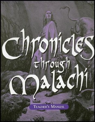Chronicles-Malachi School Manual  -     By: Marlin Detweiler, Laurie Detweiler